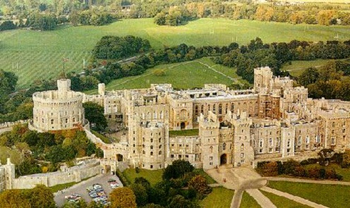 Windsor Castle is 1,000 year old and is one of the ...
